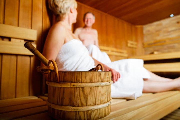 In der Sauna | © panthermedia.net /Arne Trautmann