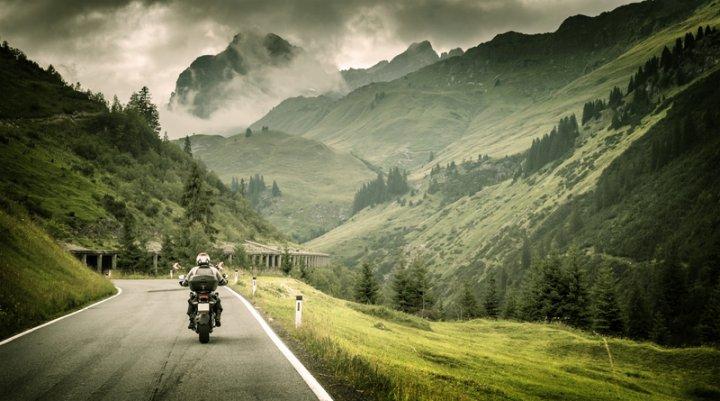 Motorradtour | © panthermedia.net /Anna_Om