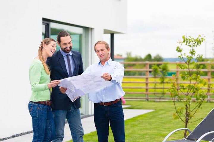 Planung des Neubaus | © panthermedia.net /Arne Trautmann