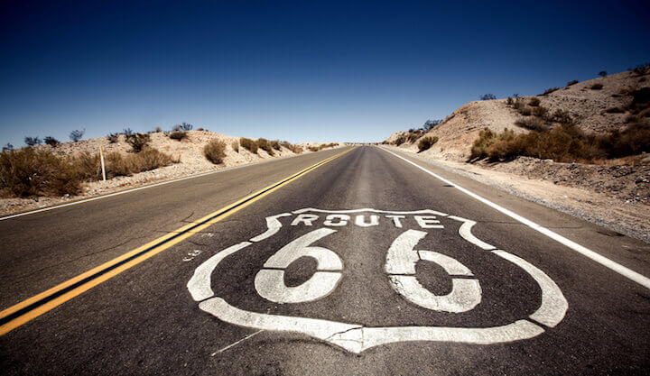 Route 66 | © panthermedia.net / duha127