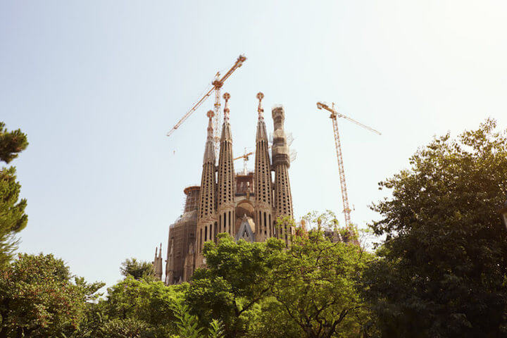 Sagrada Família | © panthermedia.net /Monkeybusiness Images