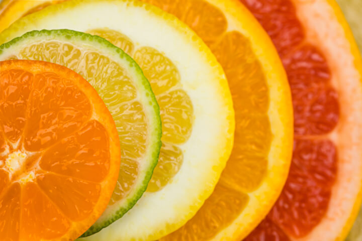 Zitrone, Orange und Grapefruit | © panthermedia.net / SergPoznanskiy