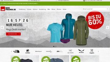 Bergfreunde Gutscheine und Rabatte für Outdoor-Liebhaber