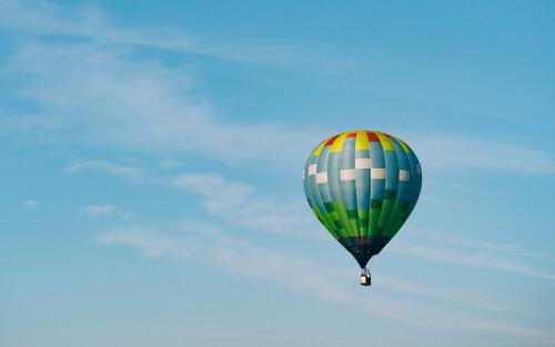 Ballonfahrt schenken zum Muttertag