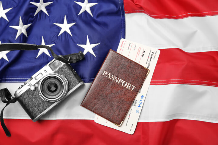 Reisepass Visum USA ESTA | © panthermedia.net /belchonock