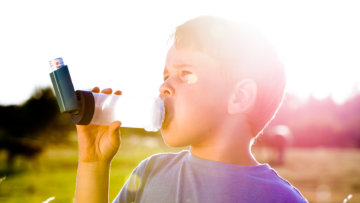 Asthma im Sommer