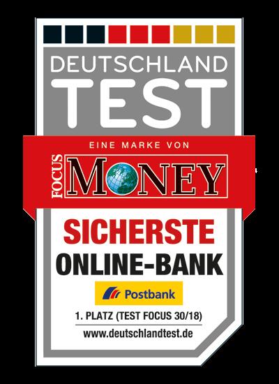 Postbank Testsieger 2018