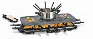 Gourmetmaxx Raclette-Fondue Set